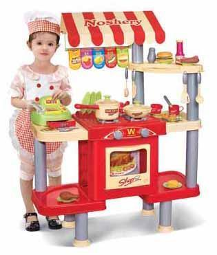 Berry Toys BR008-33 My Restaurant Shop Play Set - Peazz.com