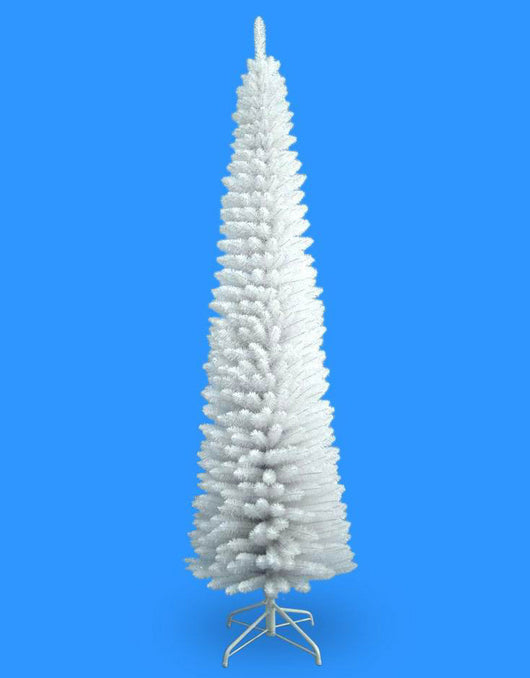 7' Pencil White Tree 400 Tips