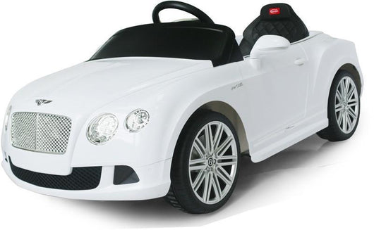Vroom Rider VR82100-WH Bentley GTC Rastar 6V - Battery Operated/Remote Controlled (White) - Peazz.com