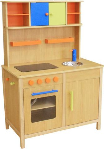 Berry Toys W10C038 Lots of Fun Wooden Play Kitchen - Peazz.com