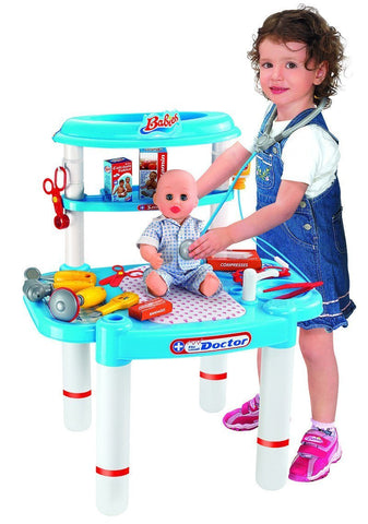 Berry Toys BR008-03 Babies Small Doctor Doll Playset - Peazz.com