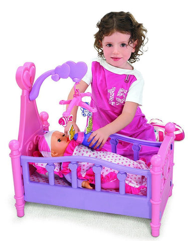Berry Toys BR008-10 Babies Doll Bedtime Playset - Peazz.com