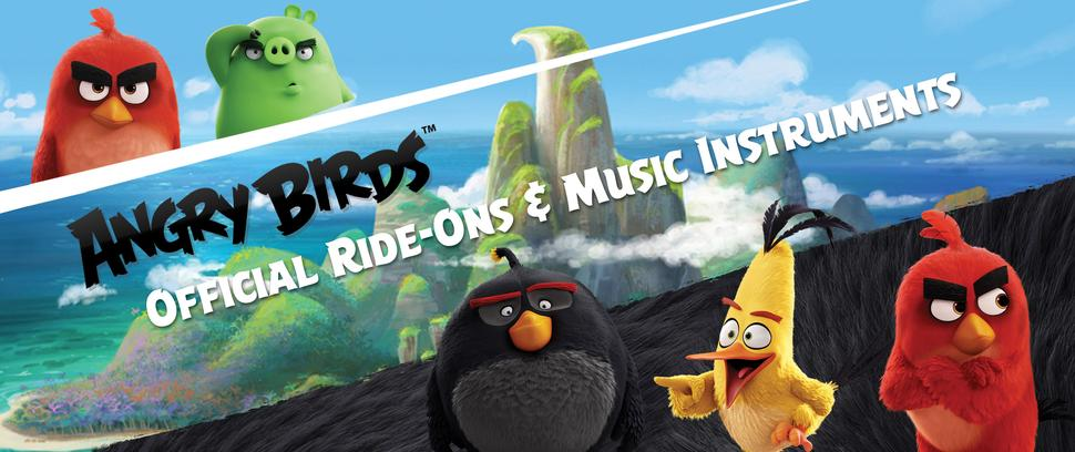 Vroom Rider Angry Birds Ride-Ons