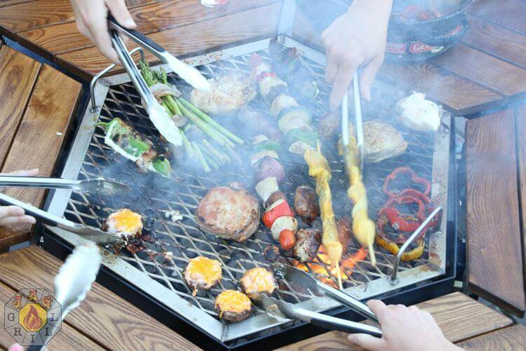 3 In 1 Bbq Grill Table Firepit