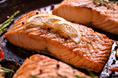 Firepit Grill Salmon