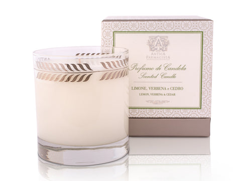 Lemon, Verbena & Cedar Candle