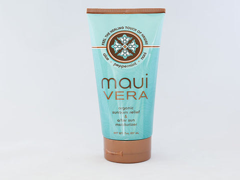 Maui Vera Organic Sunburn Relief & After Sun Moisturizer