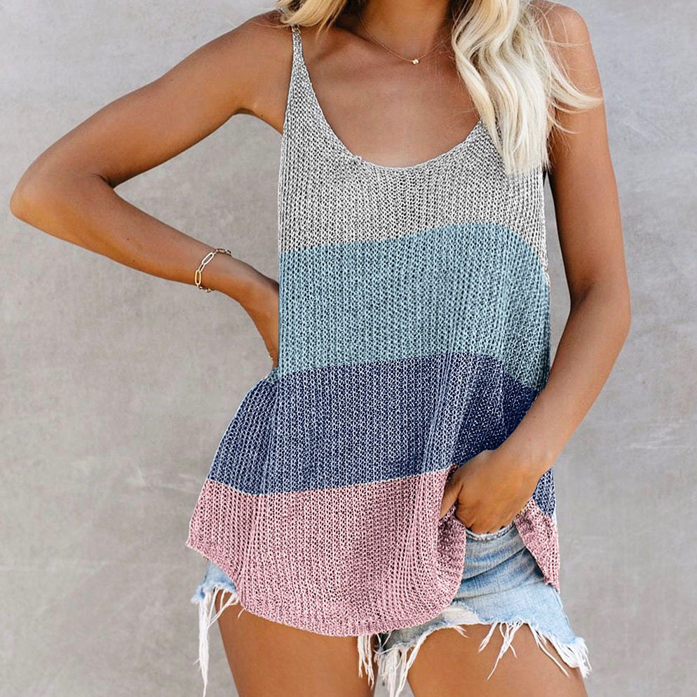 Taylor Stripe Tank Top in Multi