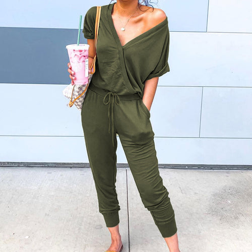 Talley Jumpsuit in Olive
