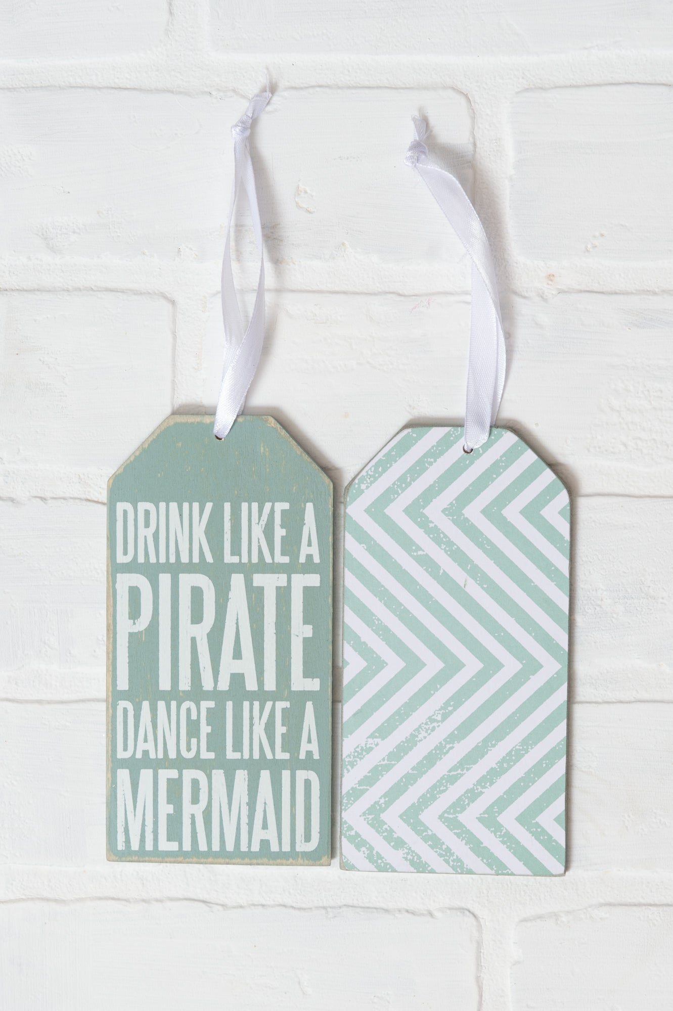 Drink Like a Pirate Bottle Tag