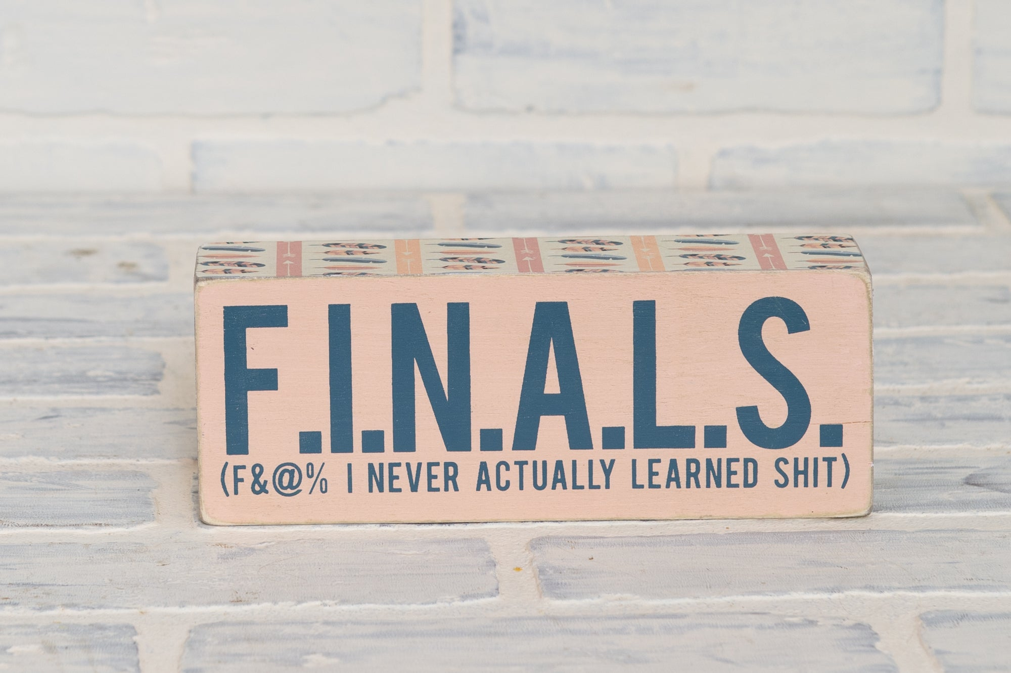 Finals Box Sign
