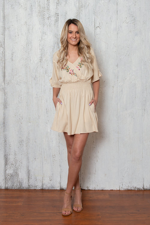 Heather Dress In Ivory
