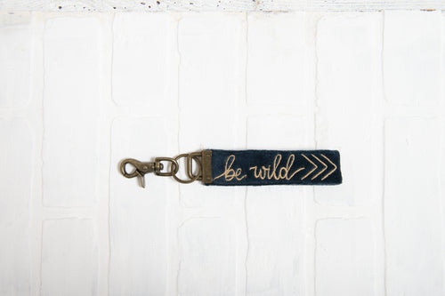 Be Wild Key Chain