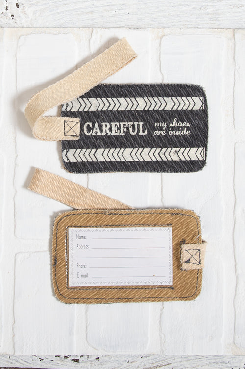Careful Luggage Tag
