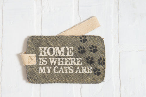 Home Is Where The Cats Are Luggage Tag