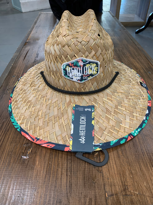 Youth Tropical Hemlock Straw Hat