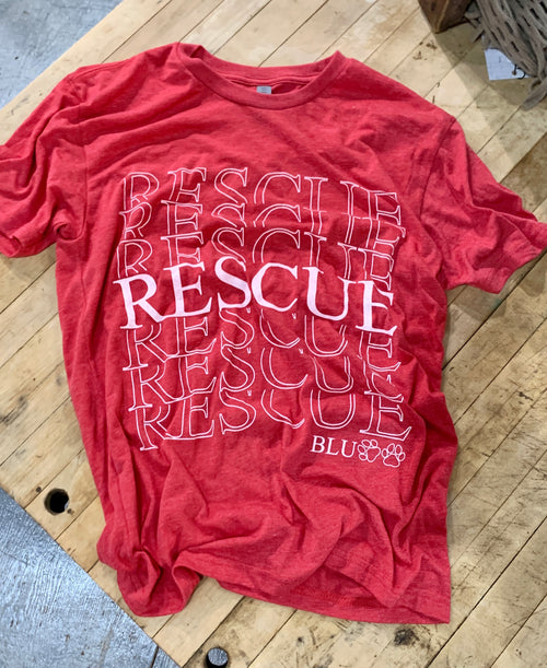 Rescue Tee in Red