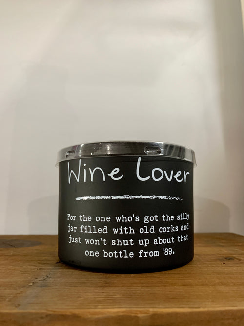 Wine Lover Candle