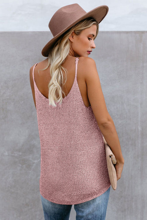 Taylor Tank Top in Pink