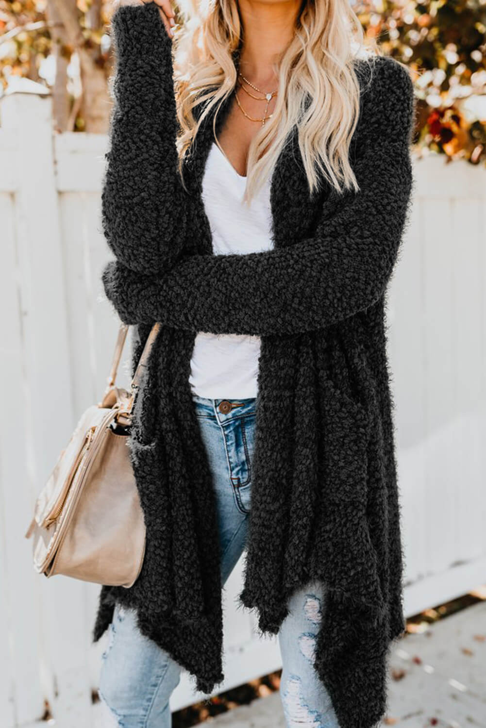 Mary Cardigan in Black