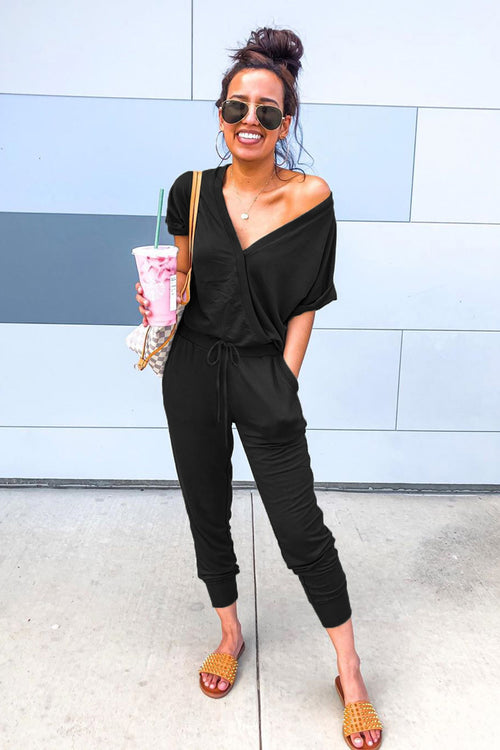 Talley Jumpsuit in Black