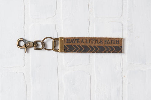 Have A Little Faith Key Chain