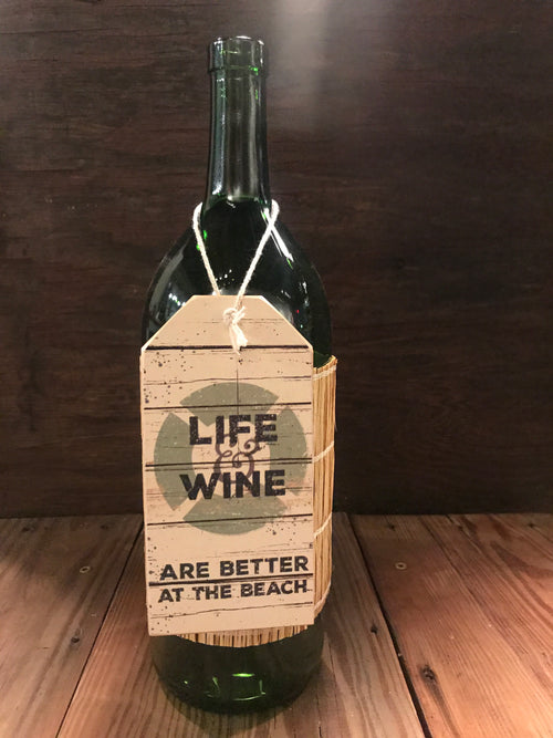 Beach House Bottle Tag