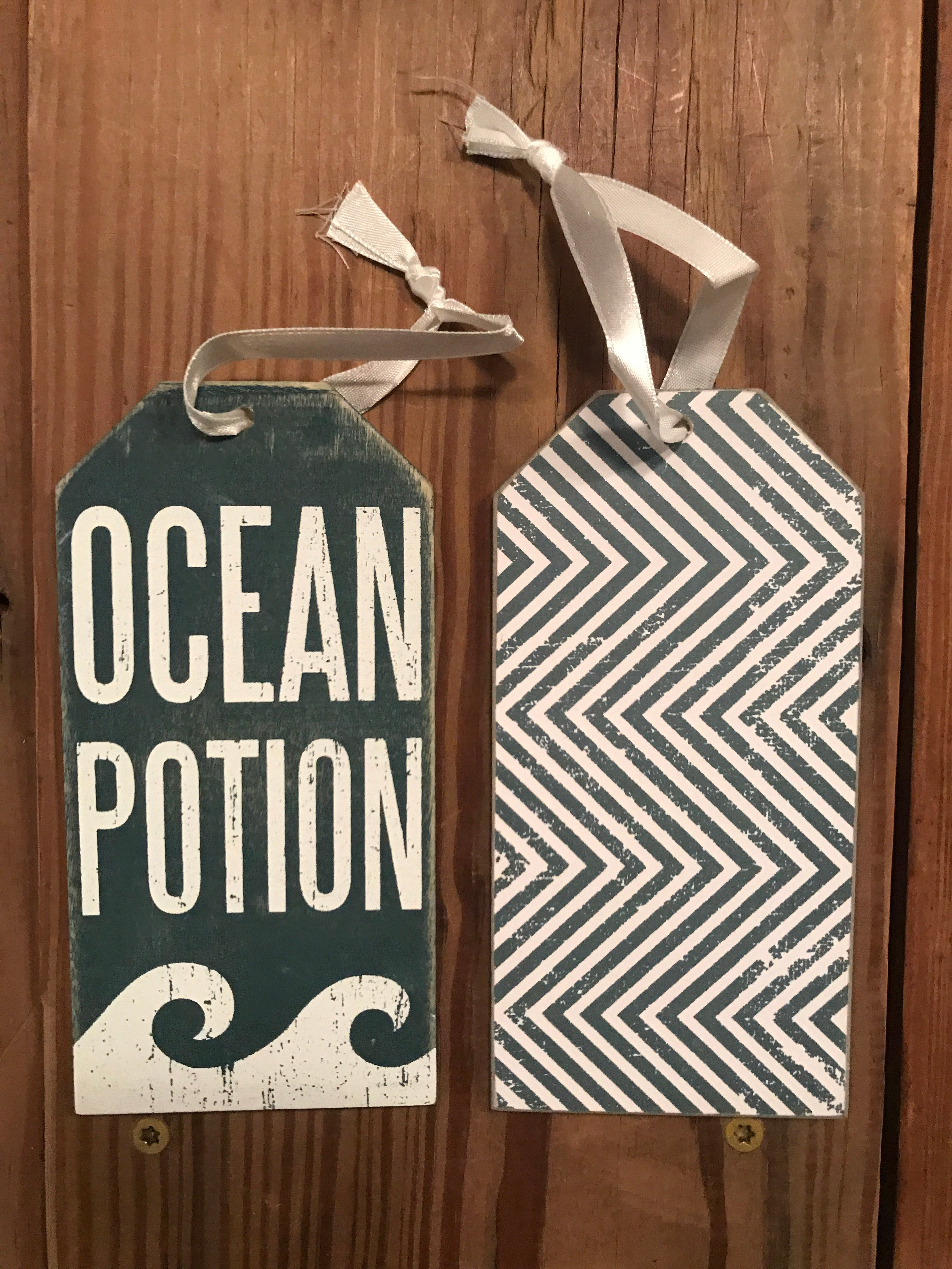 Ocean Potion Bottle Tag