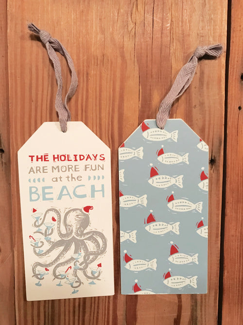 Holidays Are Fun Bottle Tag