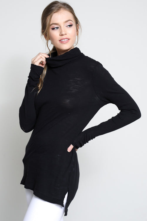 Perri Turtleneck in Black