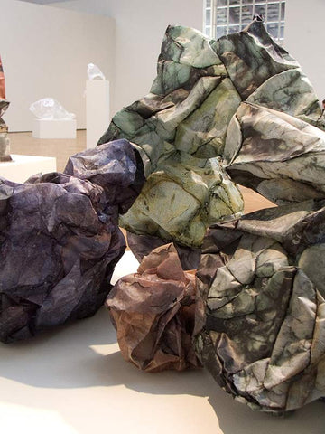 Blockage #1, Photo Sculpture by Kristin Doner