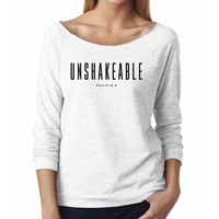 Women's 3/4 Raglan, Unshakeable by Wisdom