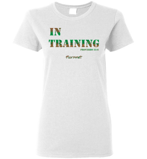 In Training, Women's t-shirt