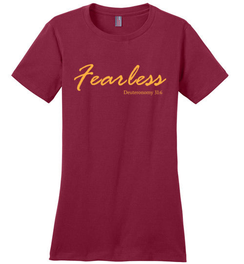 Fearless, Women's t-shirt