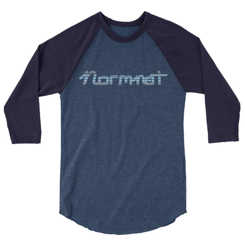 Normnot Blue Horizon, 3/4 sleeve raglan shirt
