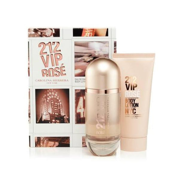 212 VIP ROSE Eau De Parfum Spray for Women Gift Set - Le Boutique Parfum