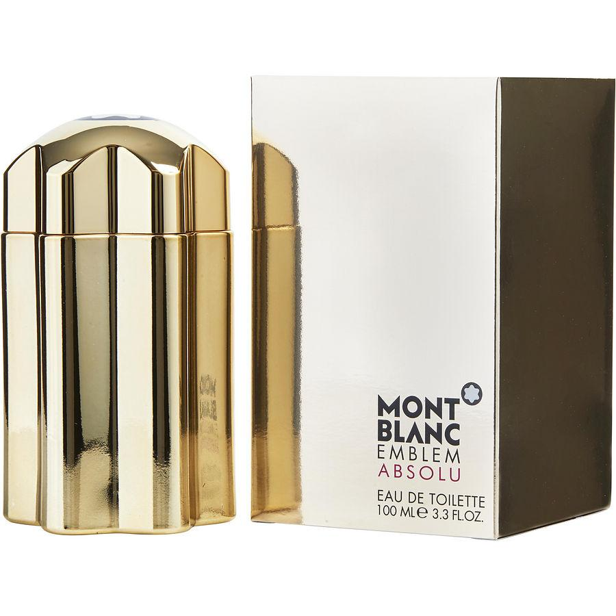 Mont Blanc Emblem Absolu Eau De Toilette Spray for Men - AromaFi.com