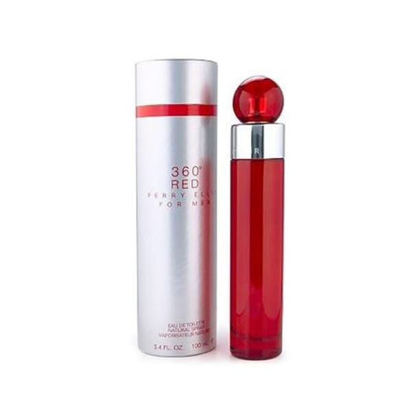 Perry Ellis 360 Red Eau De Toilette Spray for Men - AromaFi.com