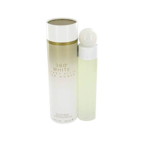 Perry Ellis 360 White Eau De Parfum Spray for Women - AromaFi.com
