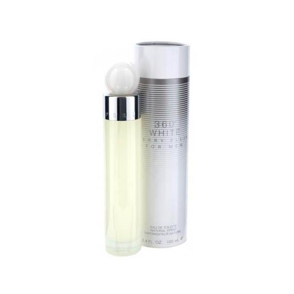 Perry Ellis 360 White Eau De Toilette Spray for Men - AromaFi.com