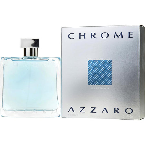 Chrome Eau De Toilette Spray for Men - AromaFi