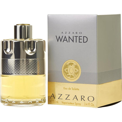 Azzaro Wanted Eau De Toilette Spray for Men - AromaFi.com