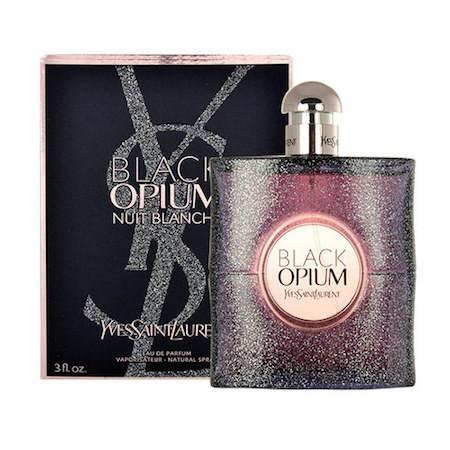 Black Opium Nuit Blanche Eau De Parfum Spray for Women - AromaFi.com