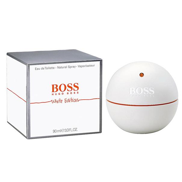 Boss In Motion White Eau De Toilette Spray for Men - Le Boutique Parfum