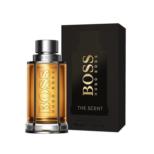 Boss The Scent Eau De Toilette Spray for Men - AromaFi.com