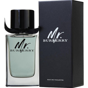Mr. Burberry Eau De Toilette Spray for Men - AromaFi.com
