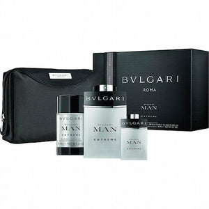 Bvlgari Man Extreme Eau De Toilette Spray for Men Gift Set - AromaFi.com