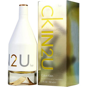 CK IN2U Eau De Toilette Spray for Women - AromaFi.com