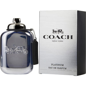 Coach Platinum Eau De Parfum Spray for Men - AromaFi.com