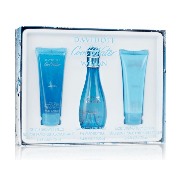 Cool Water Eau De Toilette Spray for Women Gift Set - Le Boutique Parfum
